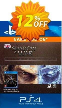 Middle-Earth: Shadow of War Expansion Pass PS4 Coupon discount Middle-Earth: Shadow of War Expansion Pass PS4 Deal - Middle-Earth: Shadow of War Expansion Pass PS4 Exclusive Easter Sale offer for iVoicesoft