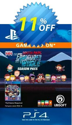 South Park: The Fractured but Whole Season Pass PS4 Coupon discount South Park: The Fractured but Whole Season Pass PS4 Deal - South Park: The Fractured but Whole Season Pass PS4 Exclusive Easter Sale offer for iVoicesoft