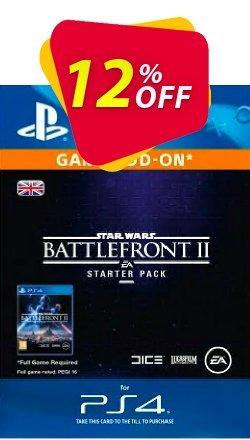 Star Wars Battlefront 2 Starter Pack PS4 Coupon discount Star Wars Battlefront 2 Starter Pack PS4 Deal - Star Wars Battlefront 2 Starter Pack PS4 Exclusive Easter Sale offer for iVoicesoft