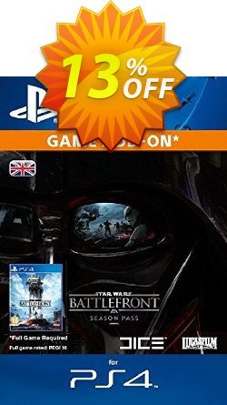 Star Wars Battlefront Season Pass PS4 Coupon discount Star Wars Battlefront Season Pass PS4 Deal - Star Wars Battlefront Season Pass PS4 Exclusive Easter Sale offer for iVoicesoft