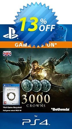 The Elder Scrolls Online - 3000 Crowns PS4 Coupon discount The Elder Scrolls Online - 3000 Crowns PS4 Deal - The Elder Scrolls Online - 3000 Crowns PS4 Exclusive Easter Sale offer for iVoicesoft
