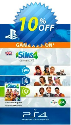 The Sims 4 - Bundle PS4 Coupon discount The Sims 4 - Bundle PS4 Deal - The Sims 4 - Bundle PS4 Exclusive Easter Sale offer for iVoicesoft