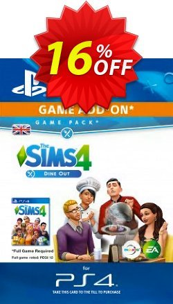 The Sims 4 - Dine Out Game Pack PS4 Coupon discount The Sims 4 - Dine Out Game Pack PS4 Deal - The Sims 4 - Dine Out Game Pack PS4 Exclusive Easter Sale offer for iVoicesoft