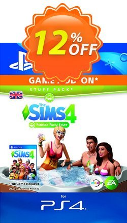 The Sims 4 - Perfect Patio Stuff PS4 Coupon discount The Sims 4 - Perfect Patio Stuff PS4 Deal - The Sims 4 - Perfect Patio Stuff PS4 Exclusive Easter Sale offer for iVoicesoft
