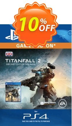Titanfall 2 Deluxe Edition ADD-ON PS4 Coupon discount Titanfall 2 Deluxe Edition ADD-ON PS4 Deal - Titanfall 2 Deluxe Edition ADD-ON PS4 Exclusive Easter Sale offer for iVoicesoft