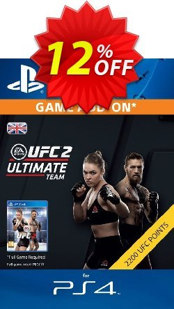UFC 2 - 2200 Points PS4 Coupon discount UFC 2 - 2200 Points PS4 Deal - UFC 2 - 2200 Points PS4 Exclusive Easter Sale offer for iVoicesoft