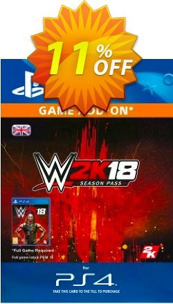 WWE 2K18 Season Pass PS4 Coupon discount WWE 2K18 Season Pass PS4 Deal - WWE 2K18 Season Pass PS4 Exclusive Easter Sale offer for iVoicesoft