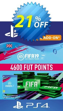 4600 FIFA 19 Points PS4 PSN Code - UK account Coupon discount 4600 FIFA 19 Points PS4 PSN Code - UK account Deal - 4600 FIFA 19 Points PS4 PSN Code - UK account Exclusive Easter Sale offer for iVoicesoft