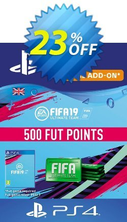 500 FIFA 19 Points PS4 PSN Code - UK account Coupon discount 500 FIFA 19 Points PS4 PSN Code - UK account Deal - 500 FIFA 19 Points PS4 PSN Code - UK account Exclusive Easter Sale offer for iVoicesoft