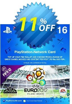 Playstation Network Card - £16 - Euro 2012 Branded Coupon discount Playstation Network Card - £16 - Euro 2012 Branded Deal - Playstation Network Card - £16 - Euro 2012 Branded Exclusive Easter Sale offer for iVoicesoft