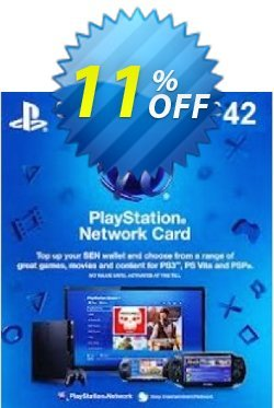 Playstation Network Card - £42 - PS Vita/PS3/PS4  Coupon discount Playstation Network Card - £42 (PS Vita/PS3/PS4) Deal - Playstation Network Card - £42 (PS Vita/PS3/PS4) Exclusive Easter Sale offer for iVoicesoft