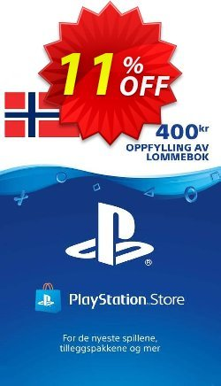 Playstation Network - PSN Card 400 NOK - Norway  Coupon discount Playstation Network (PSN) Card 400 NOK (Norway) Deal - Playstation Network (PSN) Card 400 NOK (Norway) Exclusive Easter Sale offer for iVoicesoft