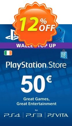 PlayStation Network - PSN Card - 50 EUR - Ireland  Coupon discount PlayStation Network (PSN) Card - 50 EUR (Ireland) Deal - PlayStation Network (PSN) Card - 50 EUR (Ireland) Exclusive Easter Sale offer for iVoicesoft