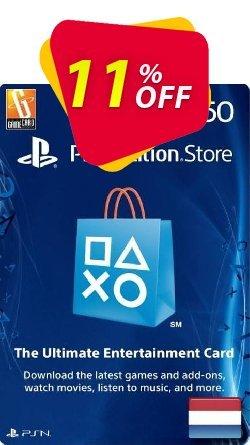 PlayStation Network - PSN Card - 50 EUR - Netherlands  Coupon discount PlayStation Network (PSN) Card - 50 EUR (Netherlands) Deal - PlayStation Network (PSN) Card - 50 EUR (Netherlands) Exclusive Easter Sale offer for iVoicesoft