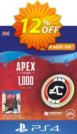 Apex Legends 1000 Coins PS4 - UK  Coupon discount Apex Legends 1000 Coins PS4 (UK) Deal - Apex Legends 1000 Coins PS4 (UK) Exclusive Easter Sale offer for iVoicesoft