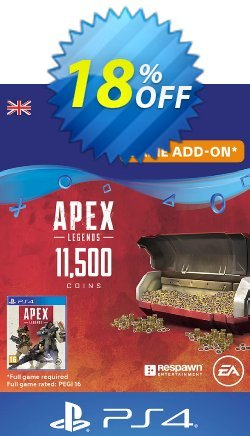 Apex Legends 11500 Coins PS4 - UK  Coupon discount Apex Legends 11500 Coins PS4 (UK) Deal - Apex Legends 11500 Coins PS4 (UK) Exclusive Easter Sale offer for iVoicesoft