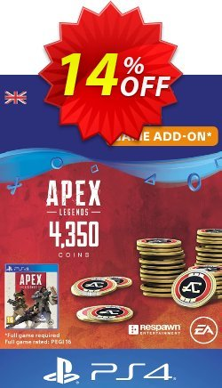 Apex Legends 4350 Coins PS4 - UK  Coupon discount Apex Legends 4350 Coins PS4 (UK) Deal - Apex Legends 4350 Coins PS4 (UK) Exclusive Easter Sale offer for iVoicesoft