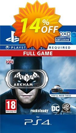 Batman Arkham VR PS4 Coupon discount Batman Arkham VR PS4 Deal - Batman Arkham VR PS4 Exclusive Easter Sale offer for iVoicesoft