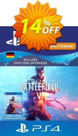 Battlefield 5 Deluxe Upgrade PS4 - Germany  Coupon discount Battlefield 5 Deluxe Upgrade PS4 (Germany) Deal - Battlefield 5 Deluxe Upgrade PS4 (Germany) Exclusive Easter Sale offer for iVoicesoft