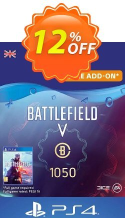 Battlefield V 5 - Battlefield Currency 1050 PS4 - UK  Coupon discount Battlefield V 5 - Battlefield Currency 1050 PS4 (UK) Deal - Battlefield V 5 - Battlefield Currency 1050 PS4 (UK) Exclusive Easter Sale offer for iVoicesoft