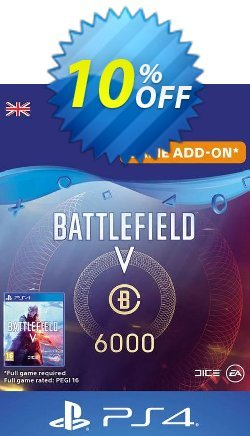 Battlefield V 5 - Battlefield Currency 6000 PS4 - UK  Coupon discount Battlefield V 5 - Battlefield Currency 6000 PS4 (UK) Deal - Battlefield V 5 - Battlefield Currency 6000 PS4 (UK) Exclusive Easter Sale offer for iVoicesoft