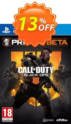Call of Duty - COD Black Ops 4 PS4 Beta Coupon discount Call of Duty (COD) Black Ops 4 PS4 Beta Deal - Call of Duty (COD) Black Ops 4 PS4 Beta Exclusive Easter Sale offer for iVoicesoft