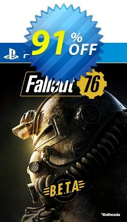 Fallout 76 BETA PS4 Coupon discount Fallout 76 BETA PS4 Deal - Fallout 76 BETA PS4 Exclusive Easter Sale offer for iVoicesoft