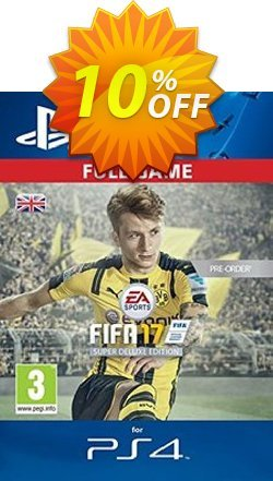 FIFA 17 Super Deluxe Edition PS4 - Digital Code Coupon discount FIFA 17 Super Deluxe Edition PS4 - Digital Code Deal - FIFA 17 Super Deluxe Edition PS4 - Digital Code Exclusive Easter Sale offer for iVoicesoft