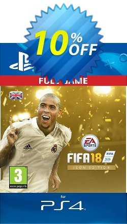 FIFA 18: ICON Edition PS4 UK Coupon discount FIFA 18: ICON Edition PS4 UK Deal - FIFA 18: ICON Edition PS4 UK Exclusive Easter Sale offer for iVoicesoft