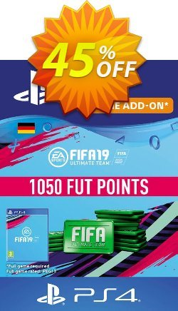 Fifa 19 - 1050 FUT Points PS4 - Germany  Coupon discount Fifa 19 - 1050 FUT Points PS4 (Germany) Deal - Fifa 19 - 1050 FUT Points PS4 (Germany) Exclusive Easter Sale offer for iVoicesoft