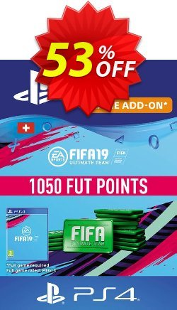 Fifa 19 - 1050 FUT Points PS4 - Switzerland  Coupon discount Fifa 19 - 1050 FUT Points PS4 (Switzerland) Deal - Fifa 19 - 1050 FUT Points PS4 (Switzerland) Exclusive Easter Sale offer for iVoicesoft