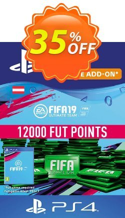 Fifa 19 - 12000 FUT Points PS4 - Austria  Coupon discount Fifa 19 - 12000 FUT Points PS4 (Austria) Deal - Fifa 19 - 12000 FUT Points PS4 (Austria) Exclusive Easter Sale offer for iVoicesoft