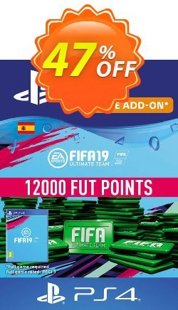 Fifa 19 - 12000 FUT Points PS4 - Spain  Coupon discount Fifa 19 - 12000 FUT Points PS4 (Spain) Deal - Fifa 19 - 12000 FUT Points PS4 (Spain) Exclusive Easter Sale offer for iVoicesoft