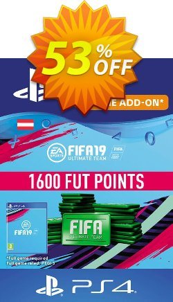 Fifa 19 - 1600 FUT Points PS4 - Austria  Coupon discount Fifa 19 - 1600 FUT Points PS4 (Austria) Deal - Fifa 19 - 1600 FUT Points PS4 (Austria) Exclusive Easter Sale offer for iVoicesoft