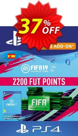 Fifa 19 - 2200 FUT Points PS4 - Spain  Coupon discount Fifa 19 - 2200 FUT Points PS4 (Spain) Deal - Fifa 19 - 2200 FUT Points PS4 (Spain) Exclusive Easter Sale offer for iVoicesoft