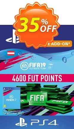 Fifa 19 - 4600 FUT Points PS4 - Austria  Coupon discount Fifa 19 - 4600 FUT Points PS4 (Austria) Deal - Fifa 19 - 4600 FUT Points PS4 (Austria) Exclusive Easter Sale offer for iVoicesoft