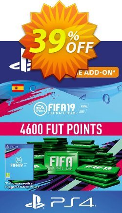 Fifa 19 - 4600 FUT Points PS4 - Spain  Coupon discount Fifa 19 - 4600 FUT Points PS4 (Spain) Deal - Fifa 19 - 4600 FUT Points PS4 (Spain) Exclusive Easter Sale offer for iVoicesoft