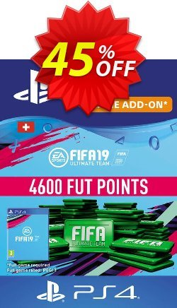 Fifa 19 - 4600 FUT Points PS4 - Switzerland  Coupon discount Fifa 19 - 4600 FUT Points PS4 (Switzerland) Deal - Fifa 19 - 4600 FUT Points PS4 (Switzerland) Exclusive Easter Sale offer for iVoicesoft