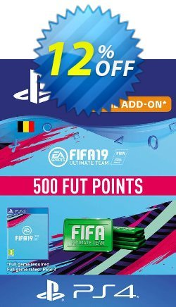 Fifa 19 - 500 FUT Points PS4 - Belgium  Coupon discount Fifa 19 - 500 FUT Points PS4 (Belgium) Deal - Fifa 19 - 500 FUT Points PS4 (Belgium) Exclusive Easter Sale offer for iVoicesoft