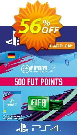 Fifa 19 - 500 FUT Points PS4 - Germany  Coupon discount Fifa 19 - 500 FUT Points PS4 (Germany) Deal - Fifa 19 - 500 FUT Points PS4 (Germany) Exclusive Easter Sale offer for iVoicesoft