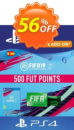 Fifa 19 - 500 FUT Points PS4 - Spain  Coupon discount Fifa 19 - 500 FUT Points PS4 (Spain) Deal - Fifa 19 - 500 FUT Points PS4 (Spain) Exclusive Easter Sale offer for iVoicesoft