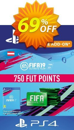 Fifa 19 - 750 FUT Points PS4 - Austria  Coupon discount Fifa 19 - 750 FUT Points PS4 (Austria) Deal - Fifa 19 - 750 FUT Points PS4 (Austria) Exclusive Easter Sale offer for iVoicesoft