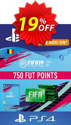 Fifa 19 - 750 FUT Points PS4 - Belgium  Coupon discount Fifa 19 - 750 FUT Points PS4 (Belgium) Deal - Fifa 19 - 750 FUT Points PS4 (Belgium) Exclusive Easter Sale offer for iVoicesoft