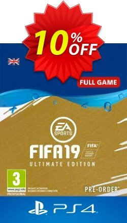 FIFA 19 Ultimate Edition PS4 - UK  Coupon discount FIFA 19 Ultimate Edition PS4 (UK) Deal - FIFA 19 Ultimate Edition PS4 (UK) Exclusive Easter Sale offer for iVoicesoft