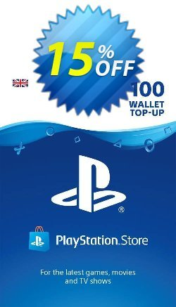 Playstation Network - PSN Card - £100 Coupon discount Playstation Network (PSN) Card - £100 Deal - Playstation Network (PSN) Card - £100 Exclusive Easter Sale offer for iVoicesoft
