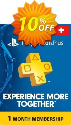 Playstation Plus - 1 Month Subscription - Switzerland  Coupon discount Playstation Plus - 1 Month Subscription (Switzerland) Deal - Playstation Plus - 1 Month Subscription (Switzerland) Exclusive Easter Sale offer for iVoicesoft