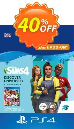 The Sims 4 - Discover University PS4 - UK  Coupon discount The Sims 4 - Discover University PS4 (UK) Deal - The Sims 4 - Discover University PS4 (UK) Exclusive Easter Sale offer for iVoicesoft