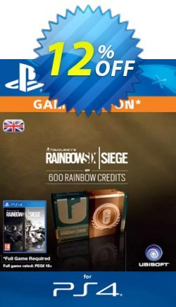 Tom Clancy's Rainbow Six Siege 600 Credits Pack - UK  Coupon discount Tom Clancy's Rainbow Six Siege 600 Credits Pack (UK) Deal - Tom Clancy's Rainbow Six Siege 600 Credits Pack (UK) Exclusive Easter Sale offer for iVoicesoft