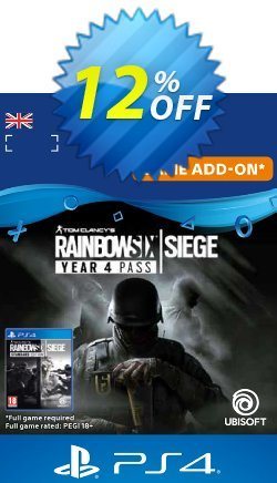 Tom Clancy's Rainbow Six Siege - Year 4 Pass PS4 - UK  Coupon discount Tom Clancy's Rainbow Six Siege - Year 4 Pass PS4 (UK) Deal - Tom Clancy's Rainbow Six Siege - Year 4 Pass PS4 (UK) Exclusive Easter Sale offer for iVoicesoft