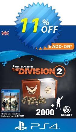Tom Clancy's The Division 2 PS4 - Welcome Pack Coupon discount Tom Clancy's The Division 2 PS4 - Welcome Pack Deal - Tom Clancy's The Division 2 PS4 - Welcome Pack Exclusive Easter Sale offer for iVoicesoft